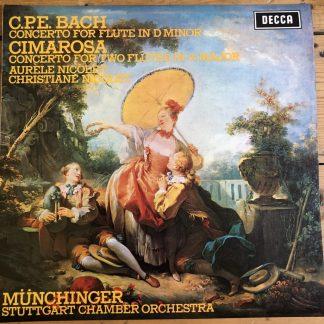 SXL 6536 C.P.E. Bach / Cimarosa Flute Concertos