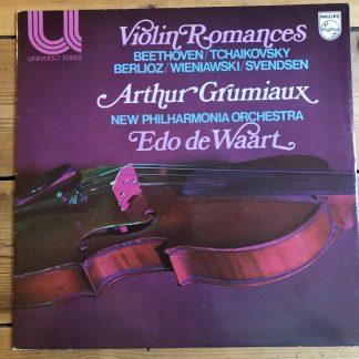 6580 047 Violin Romances / Arthur Grumiaux / de Waart / NPO