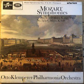 SAX 2546 Mozart Symphonies 31 & 34 / Klemperer E/R