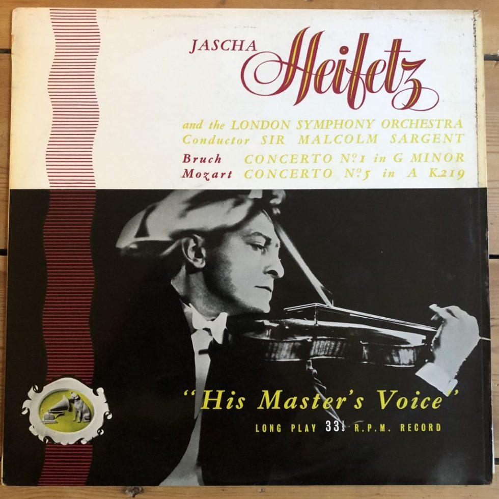 ALP 1124 Bruch / Mozart Violin Concertos