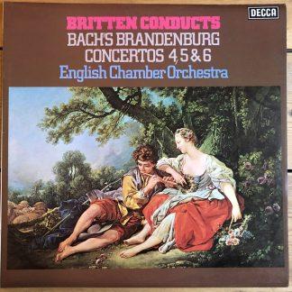 SXL 6775 Bach Brandenburg Concertos 4, 5 & 6 / Britten / ECO