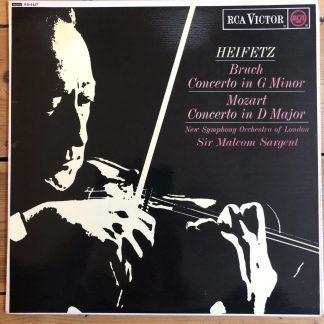 RB 6527 Bruch / Mozart Violin Concertos