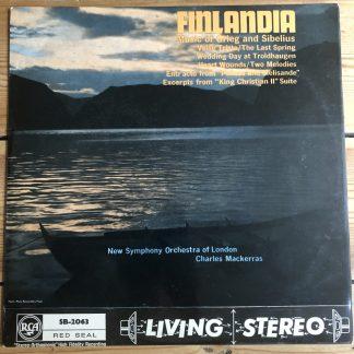 SB 2063 Sibelius Finlandia etc. / Mackerras