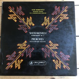 33CX 1440 Prokofiev / Shostakovich / Markevitch B/G