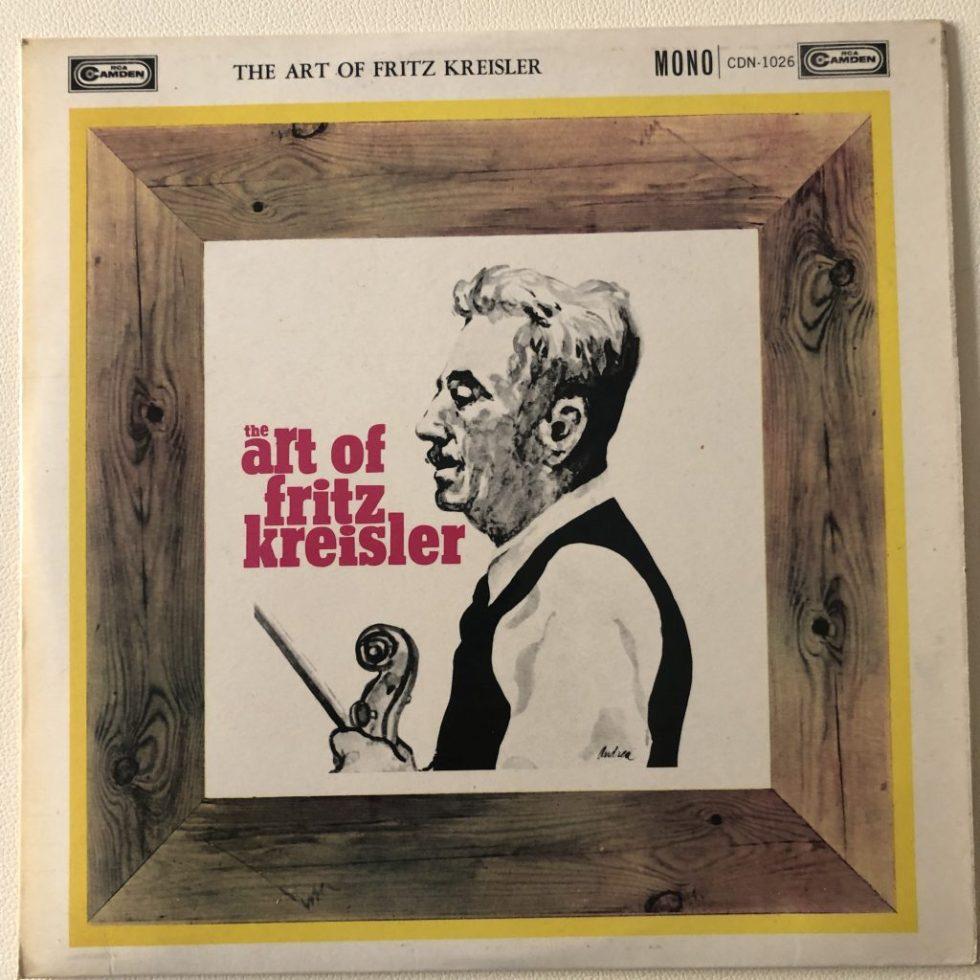CDN 1026 The Art of Fritz Kreisler