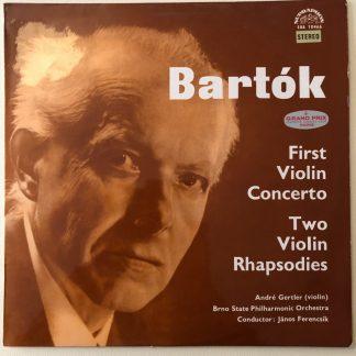 SUA ST 50466 Bartok Violin Concerto No. 1