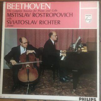 SAL 3453-4 Beethoven Cello Sonatas / Rostropovich