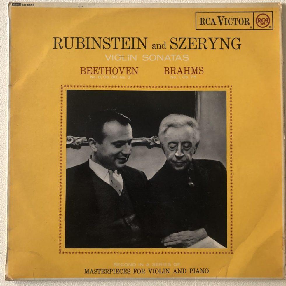 SB 6513 Beethoven / Brahms Violin Sonatas