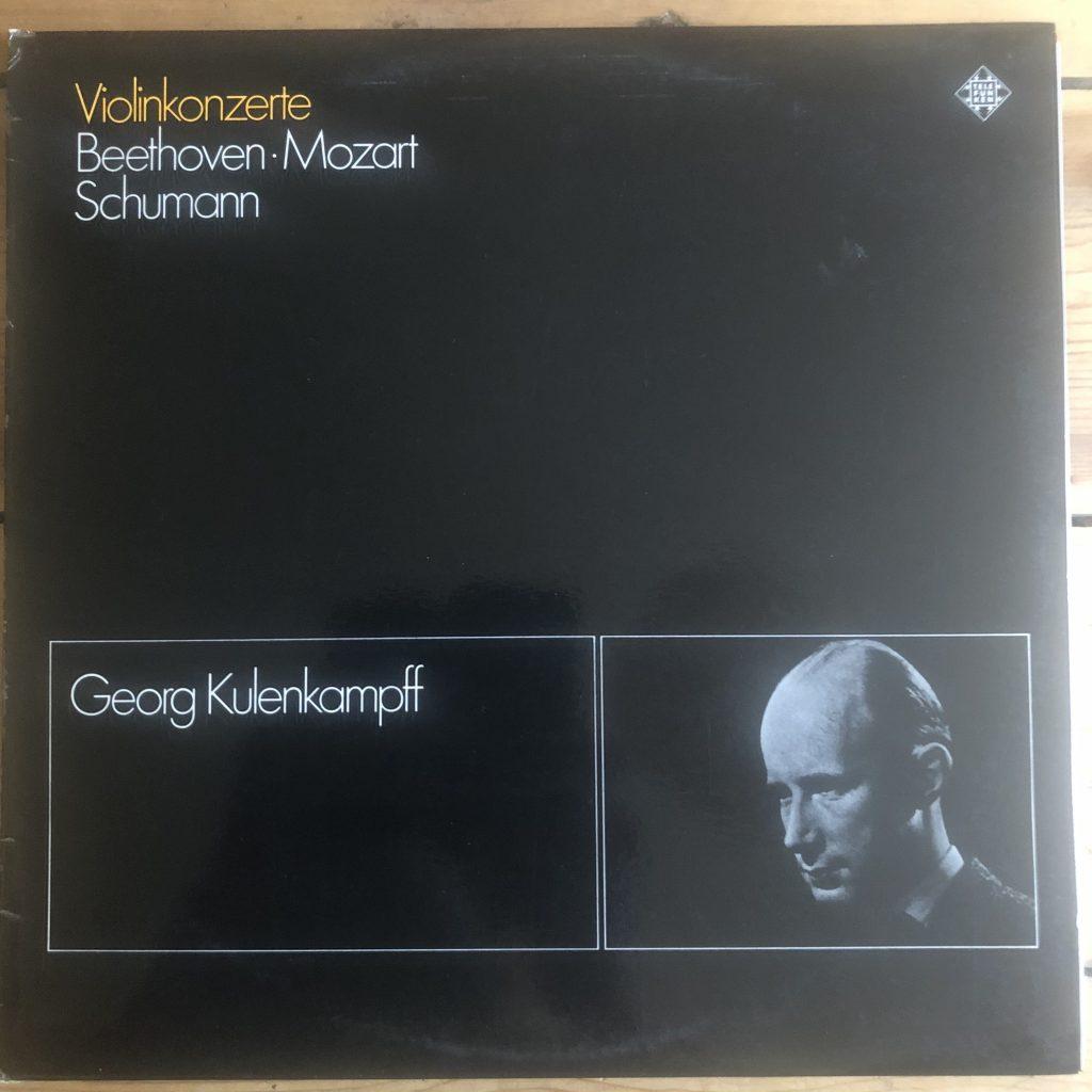 KT 11008/1-2 Beethoven / Schumann / Mozart Violin Concertos / Georg  Kulenkampff 2 LP set -