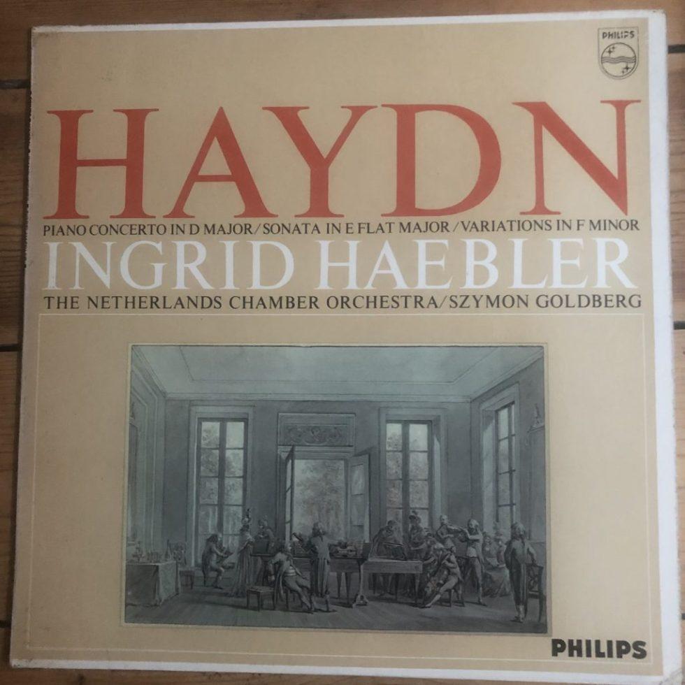 SAL 3742 Haydn Piano Concerto in D Major