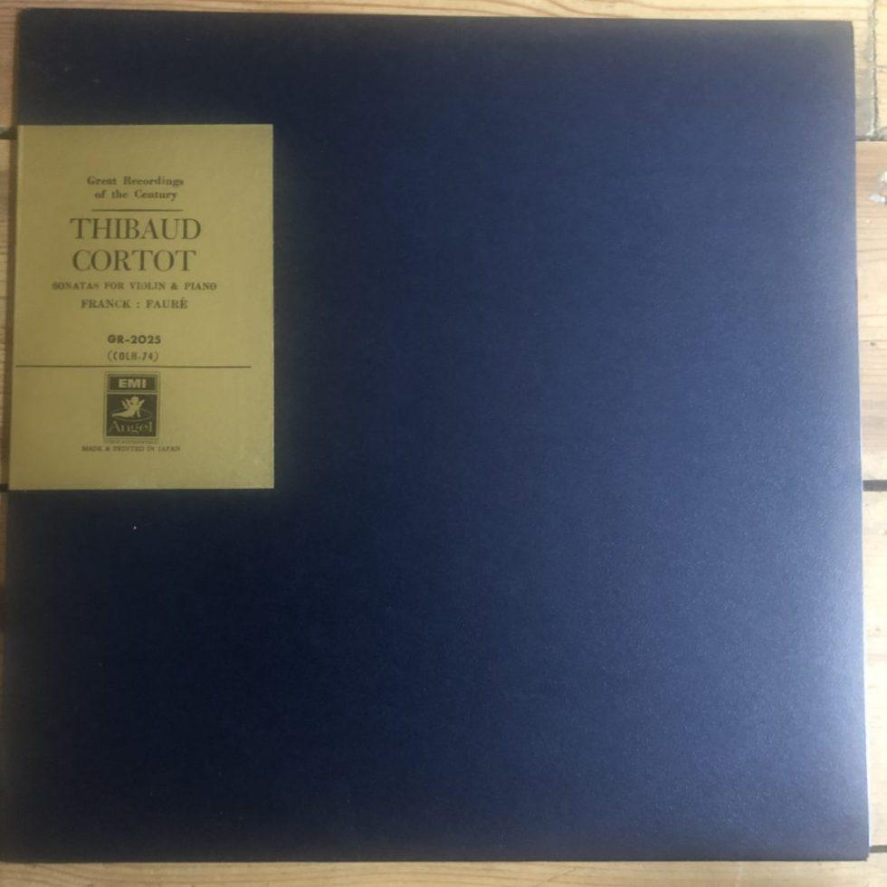 GR 2025 Franck / Fauré Sonatas for Violin