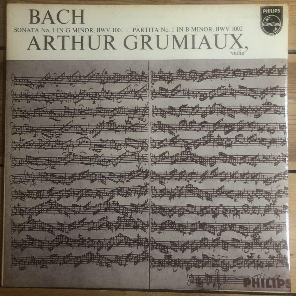AL 3472 Bach Sonata No. 1 / Partita No. 1