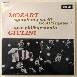 SXL 6225 Mozart Symphonies Nos. 40 & 41