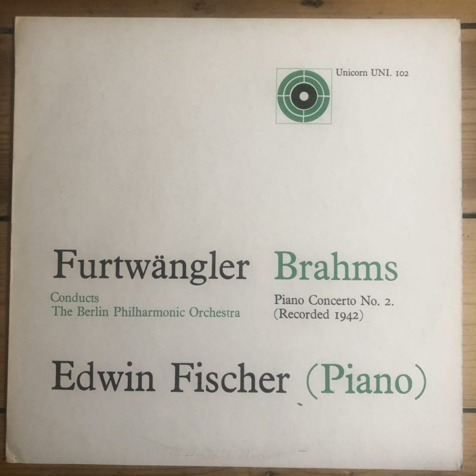 UNI 102 Brahms Piano Concerto No 2