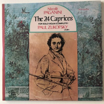 VCS 10093/94 Paganini 24 Caprices for Solo Violin