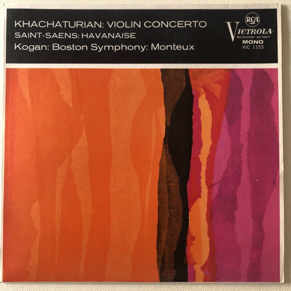 VIC 1153 Khachaturian Violin Concerto
