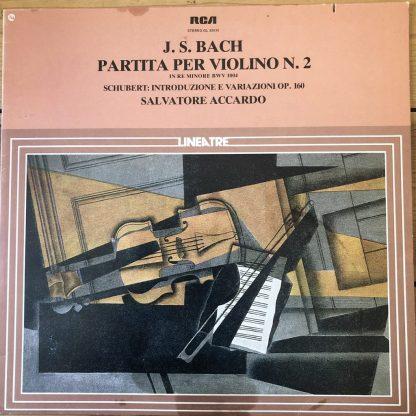 GL 32630 Bach Violin Partita No. 2