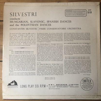 ASD 519 Hungarian, Slavonic & Polovtsian Dances / Silvestri