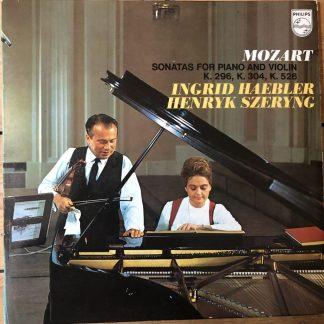 6500 053 Mozart Sonatas for Piano & Violin K296, 304, 526 / Szeryng / Haebler