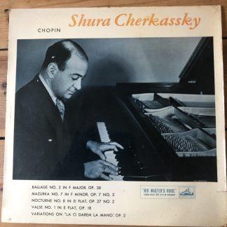 ALP 1489 A Chopin Recital Shura Cherkassky R/G