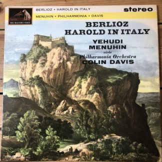 ASD 537 Berlioz Harold in Italy / Menuhin / Davis W/G