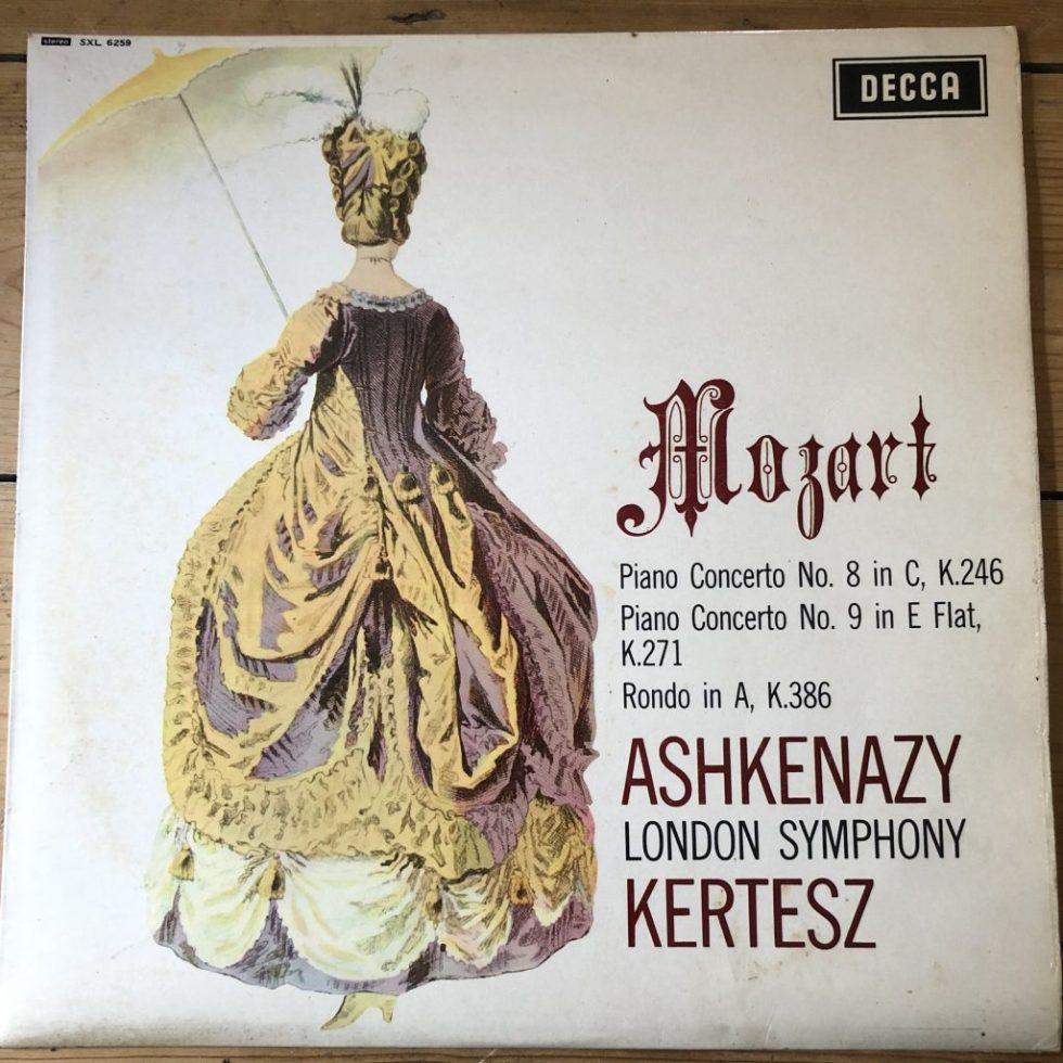 SXL 6259 Mozart Piano Concertos Nos.8 & 9 Vladimir Ashkenazy LSO Kertesz