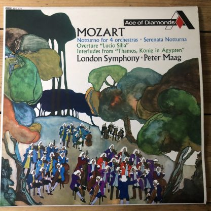 SDD 171 Mozart Notturno for 4 orchestras etc. / Maag GROOVED FFRR