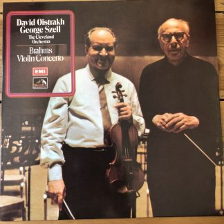 ASD 2525 Brahms Violin Concerto / Oistrakh / Szell