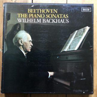 SXLA 6452/61 Beethoven Piano Sonatas