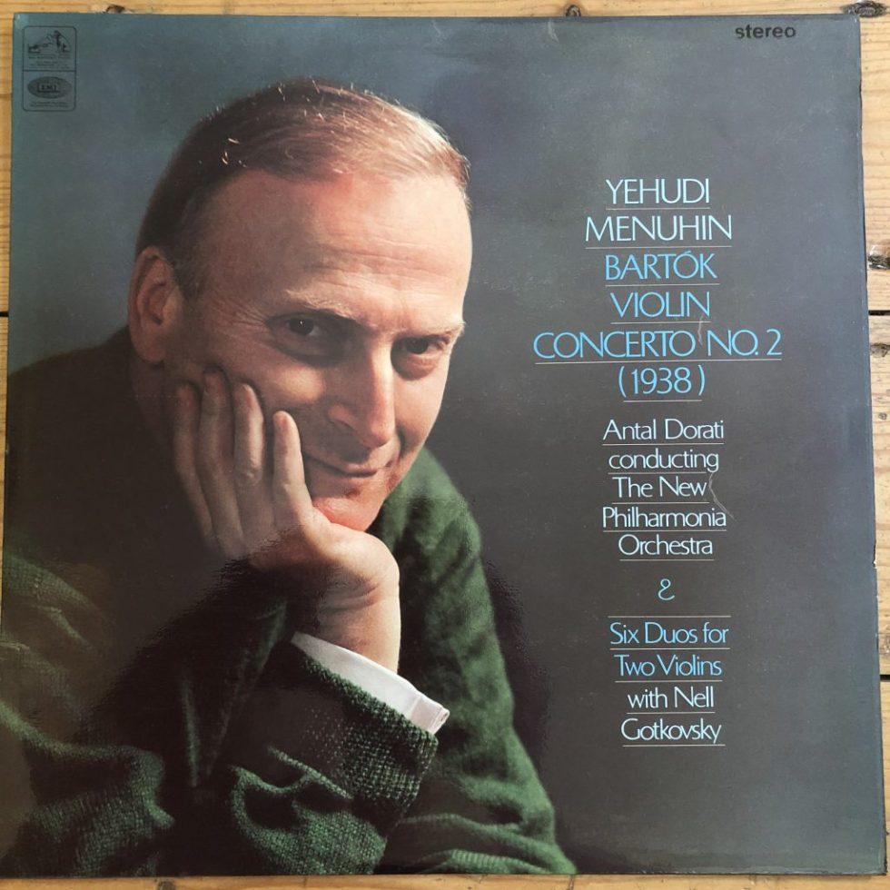 ASD 2281 Bartok Violin Concerto / Yehudi Menuhin