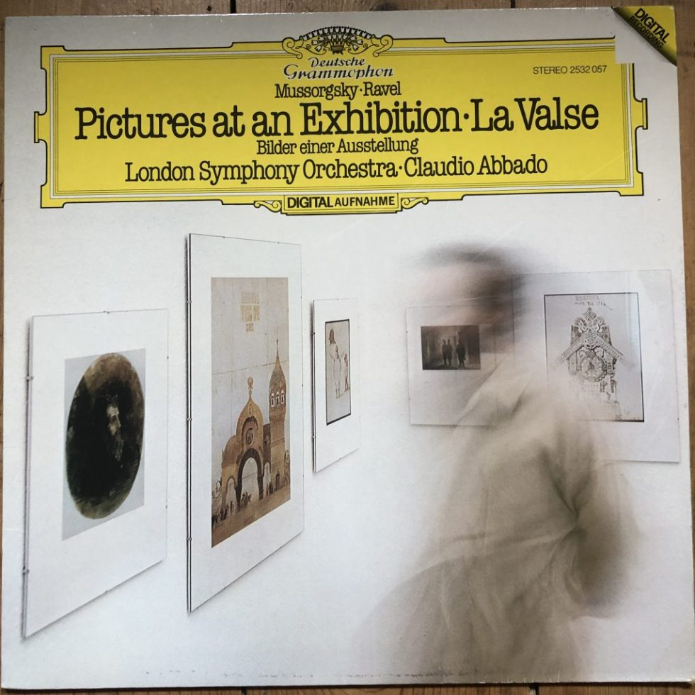 2532 057 Mussorgsky-Ravel Pictures At An Exhibition / Claudio Abbado