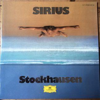 2707 122 Stockhausen Sirius Electronic Music 2 LP set