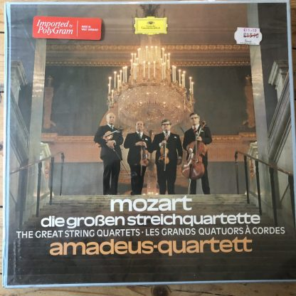 2720 055 Mozart The Great String Quartets / Amadeus Quartet