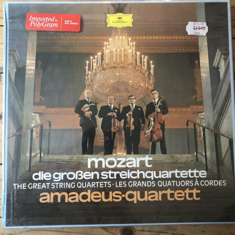 2720 055 Mozart The Great String Quartets / Amadeus Quartet