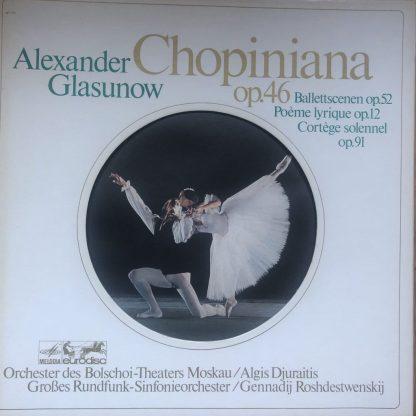 86 884 XDK Glasunow Chopiniana