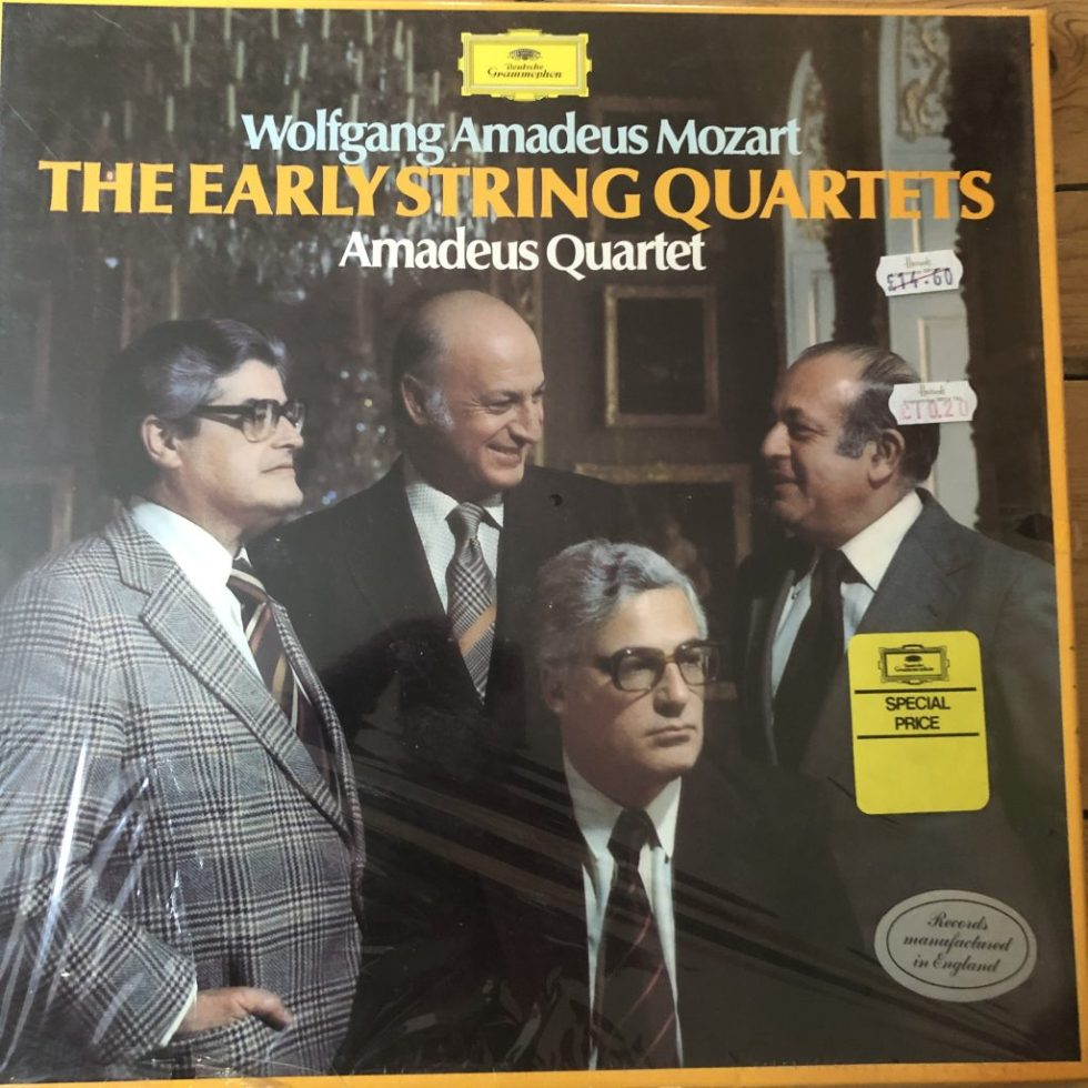 2740 175 Mozart Early String Quartets / Amadeus Quartet