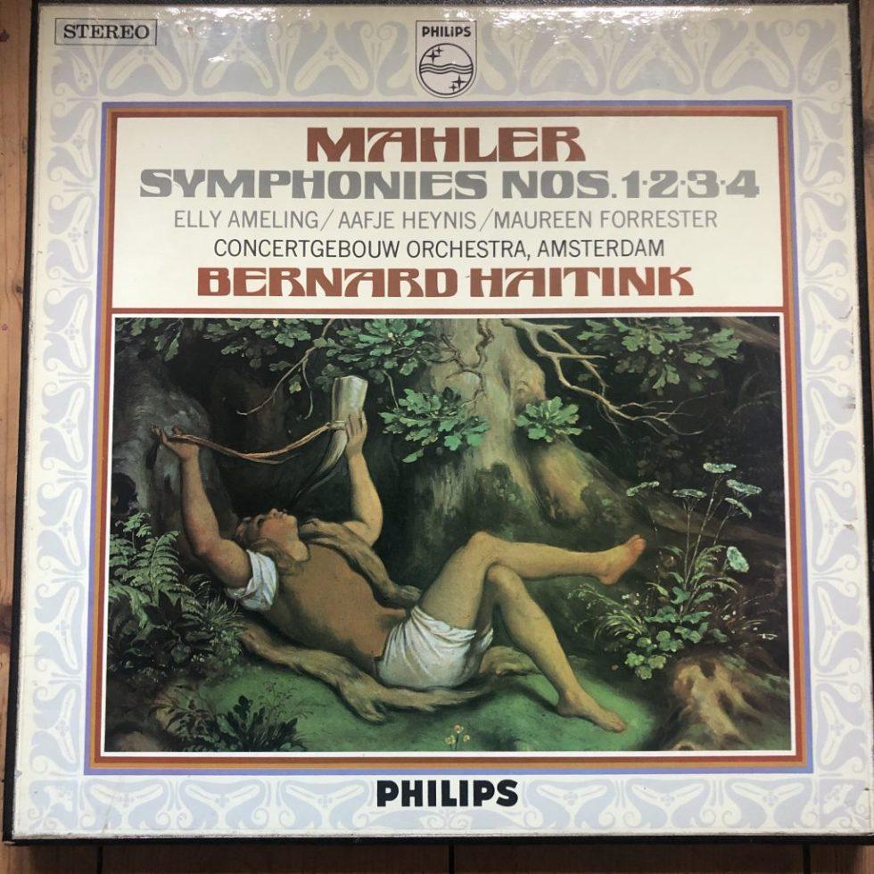 AXS 6000 Mahler Symphonies 1-4 / Haitink / Concertgebouw P/S 4 LP box