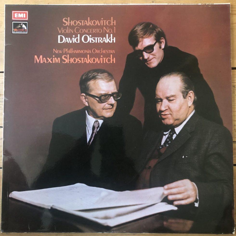 ASD 2936 Shostakovich Violin Concerto No. 1 / David Oistrakh / M. Shostakovich / NPO
