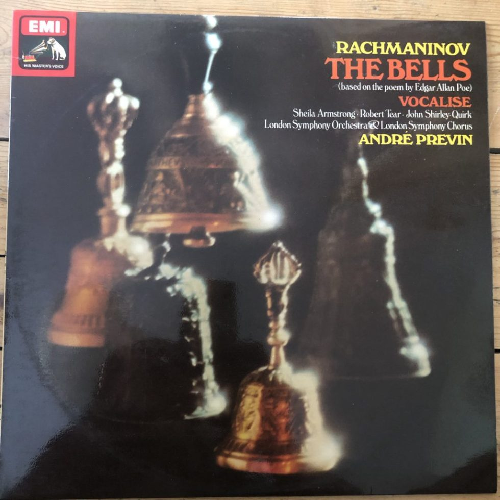 ASD 3284 Rachmaninov The Bells / Vocalise / Previn
