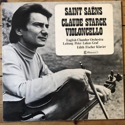 CLA 30-411 Saint-Saëns Cello Concerto No. 1 / Cello Sonata No. 1 / Claud Starck