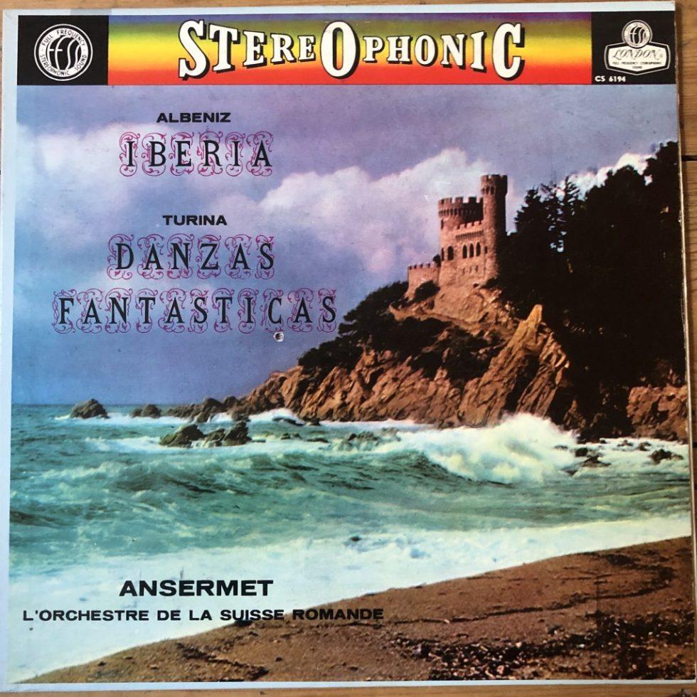 CS 6194 Albeniz Iberia / Turina Danzas Fantasticas