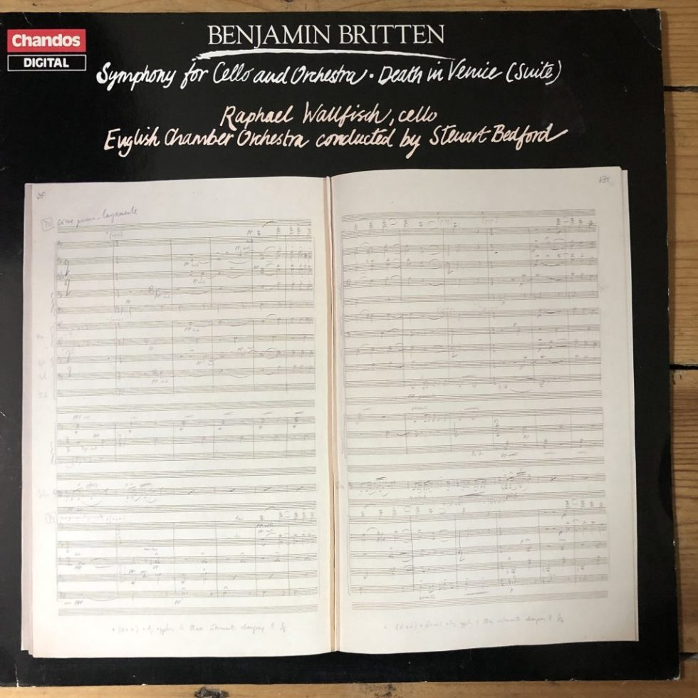ABRD 1126 Britten Symphony For Cello & Orchestra,