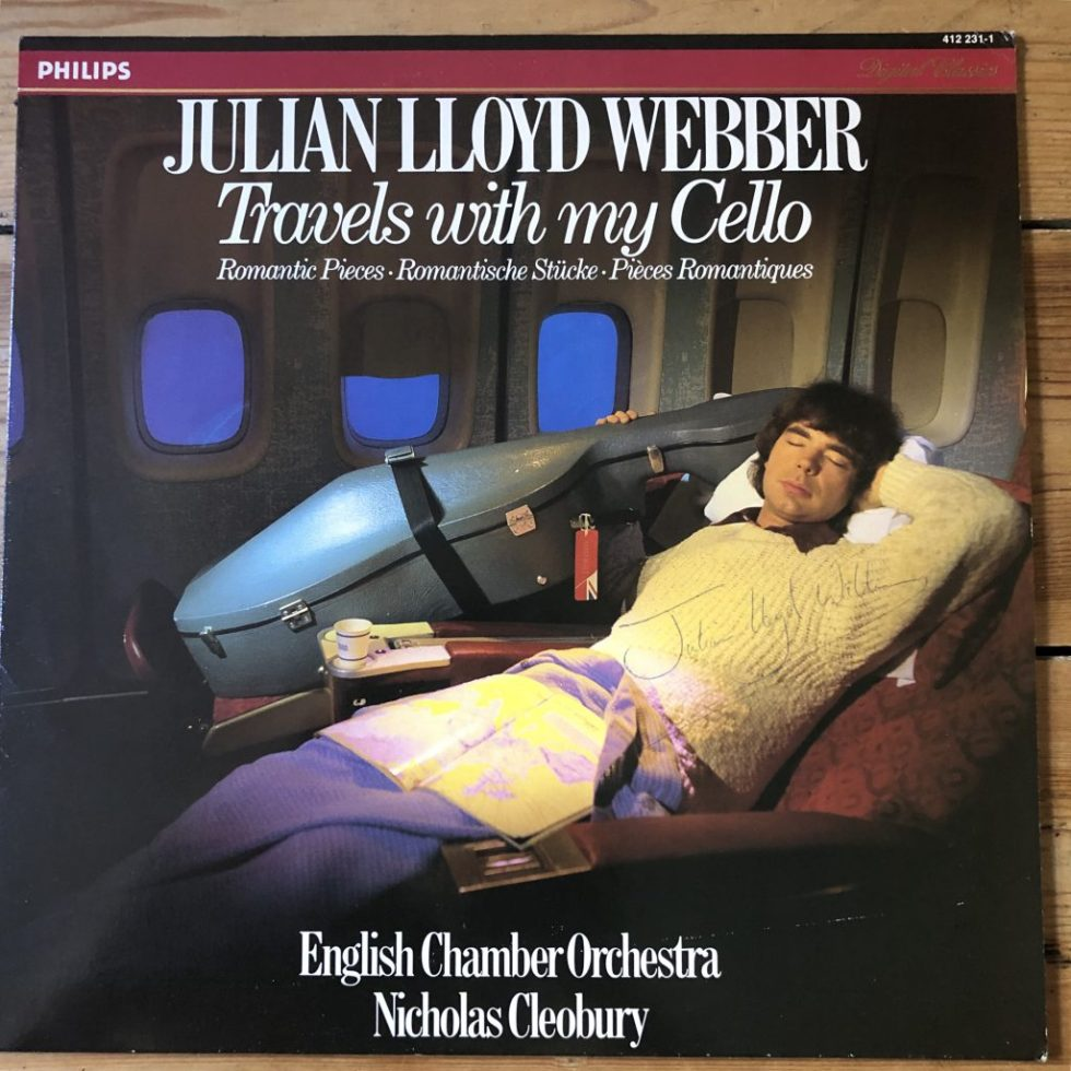 412 231-1 Travels With My Cello / Julian Lloyd Webber
