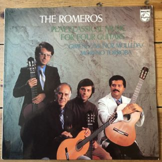 9500 296 The Romeros Play Classical Music for Four Guitars