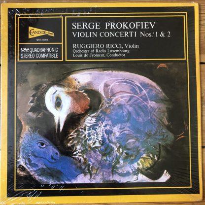 QCE 31081 Prokofiev Violin Concerto 1 & 2 / Ruggiero Ricci