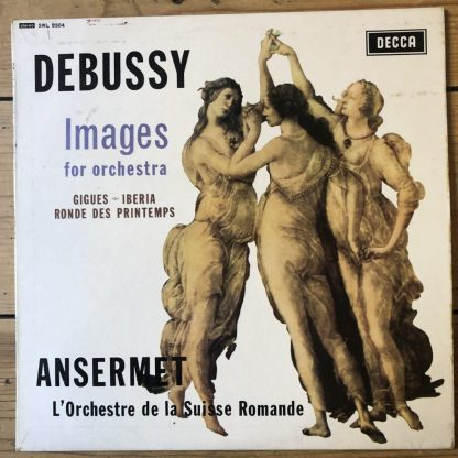SWL 8504 Debussy Images for Orchestra
