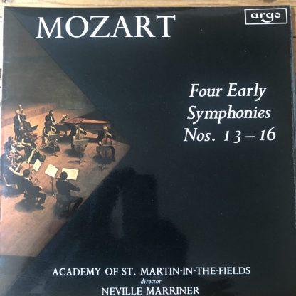 ZRG 594 Mozart Four Early Symphonies Nos. 13-16