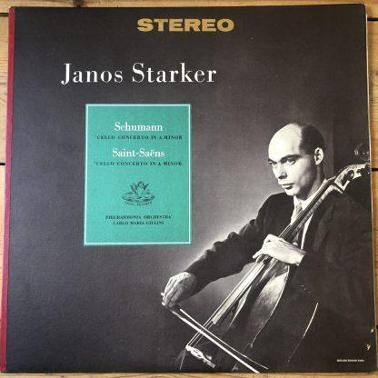 S 35598 Schumann / Saint-Saëns Cello Concertos / Janos Starker