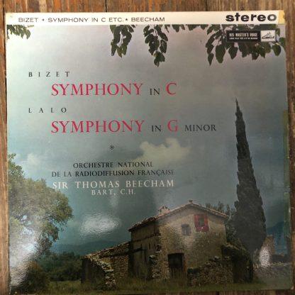 ASD 388 Bizet Symphony in C / Lalo Symphony in G min Beecham / ONRF W/G