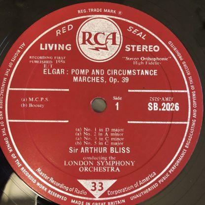 SB 2026 Elgar Pomp & Circumstance Marches etc. / Bliss